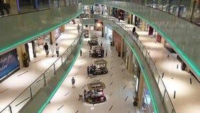 Dubai Mall Burj Khalifa stock video footage