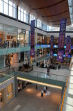 Dubai Mall in Dubai, UAE. The Dubai Mall is the world's largest shopping mall based on total area and thirteenth largest by gross leasable area Royalty Free Stock Photos