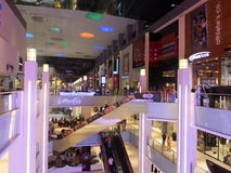 Dubai Mall in Dubai, UAE Royalty Free Stock Image