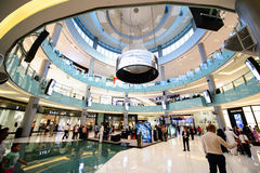 Dubai Mall,Dubai,UAE Royalty Free Stock Photos