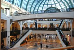Dubai Mall of the emirates Royalty Free Stock Photography