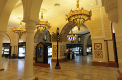 Dubai Mall Gold Souk Royalty Free Stock Image