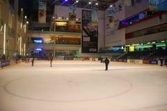 Dubai Mall ice Stock Images