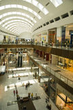 Dubai Mall inside Royalty Free Stock Photo