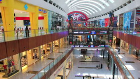 Dubai Mall from inside with buyers, United Arab Emirates