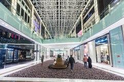 Dubai Mall. Interior stock images