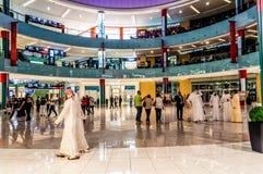 Dubai Mall , luxurious shopping center stock photo