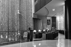 The Dubai Mall. DUBAI - OCTOBER 15, 2014: interior of the Dubai Mall. The Dubai Mall located in Dubai, it is part of the 20-billion-dollar Downtown Dubai complex Royalty Free Stock Image