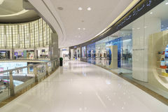 The Dubai Mall royalty free stock photo