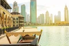 Dubai-Mall See lizenzfreie stockbilder