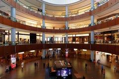 Dubai Mall Shopping Centre, Dubai, United Arab Emirates. DUBAI, UAE, 4 APRIL 2016.  Editorial Photograph of Dubai Mall Shopping Centre.  One of the largest in Royalty Free Stock Image
