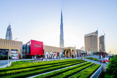 Dubai mall. Stock Photography