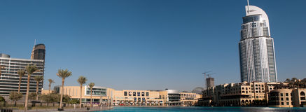The Dubai Mall is the world's largest shopping mal Royalty Free Stock Images