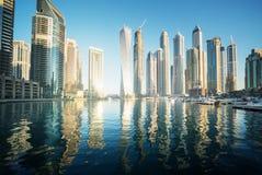 Dubai Marin Fotografía de archivo