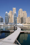 Dubai Marina Royalty Free Stock Photo