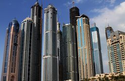 Dubai Marina Royalty Free Stock Images