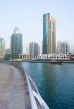 dubai marina zdjęcie royalty free
