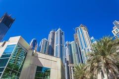 Dubai Marina Arkivfoton