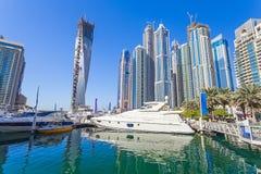Dubai Marina Royaltyfri Foto