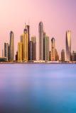 Dubai Marina. Royalty Free Stock Image