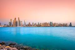 Dubai marina. Arkivbild