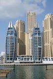 Dubai Marina Stock Photo