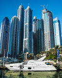 Dubai Marina aon 14 december 2013 Royalty Free Stock Photo