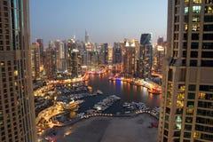 Dubai Marina Stock Images