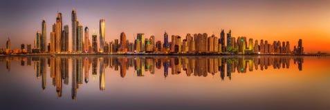 Dubai Marina bay, UAE Royalty Free Stock Photos