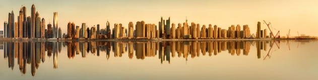 Dubai Marina bay, UAE Royalty Free Stock Images