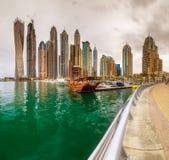 Dubai Marina bay, UAE Royalty Free Stock Photography