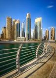 Dubai Marina bay, UAE Royalty Free Stock Photo