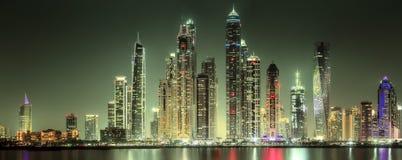 Dubai Marina bay, UAE Royalty Free Stock Image