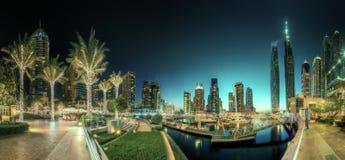 Dubai Marina bay, UAE Stock Photos