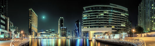 Dubai Marina bay, UAE Royalty Free Stock Photo