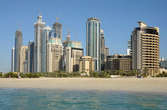 Dubai Marina Beach Royalty Free Stock Image