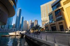 Dubai marina Royalty Free Stock Photography