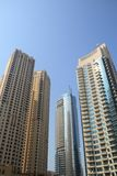 Dubai Marina Buildings Royalty Free Stock Photo