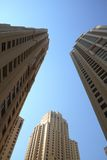 Dubai Marina Buildings Royalty Free Stock Photography