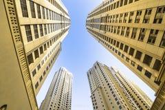 Dubai Marina Buildings Stock Images