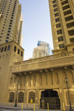 Dubai Marina Buildings Stock Photos