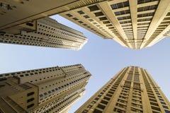 Dubai Marina Buildings Stock Photography