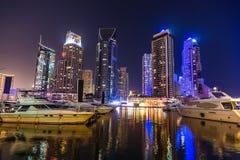 Dubai Marina cityscape, UAE Royalty Free Stock Photos