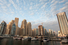 Dubai Marina district Stock Image