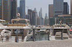 Dubai Marina district Royalty Free Stock Photography