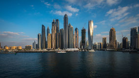 Dubai Marina district Royalty Free Stock Image