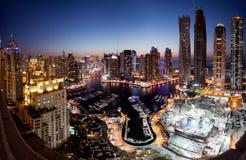 Dubai Marina district Stock Photography