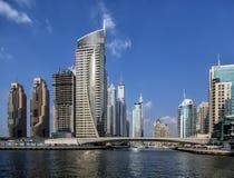 Dubai marina in Dubai Stock Images
