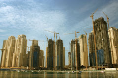 Dubai Marina, Emirates Stock Images