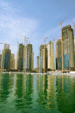 Dubai Marina, Emirates Royalty Free Stock Photos